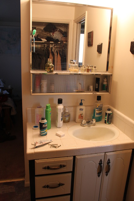 Remodeled Master Bathroom and Closet.