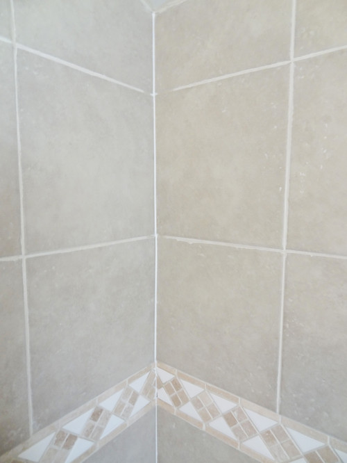 Houzz quick fix repair cracked bathroom grout revamp for Quick fix bathroom ideas