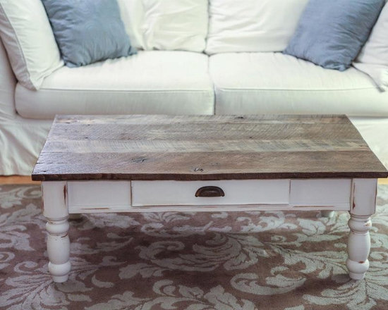 Reclaimed Things - Reclaimed Wood Coffee Table - Furniture by Reclaimed Things, photo courtesy Bill Staley