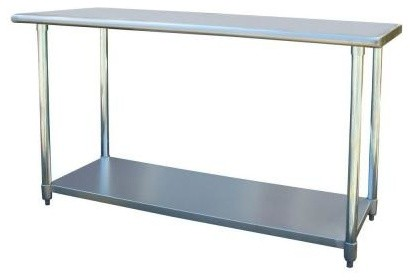 Sportsman Table. Stainless Steel Kitchen Work Table 24 in. x 60 in