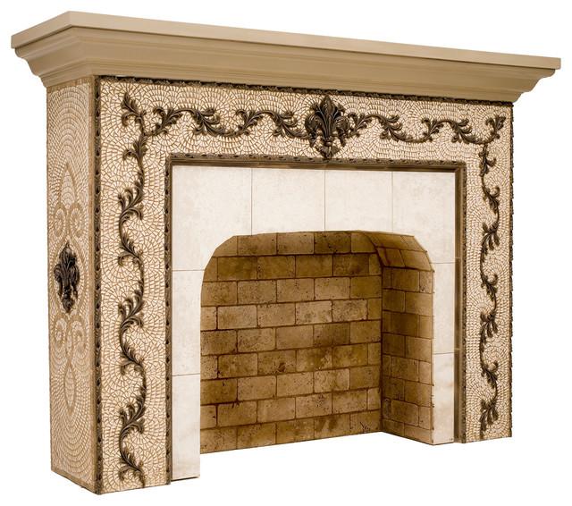 fireplace medallions home decor. Black Bedroom Furniture Sets. Home Design Ideas