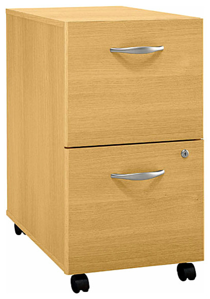 File Cabinet w Casters & Locking Bottom Drawe ...