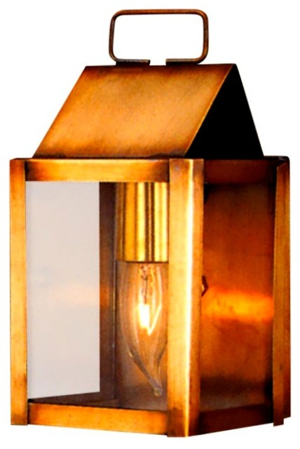 Carriage House Colonial Copper Lantern Sconce Style Wall