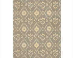 Zonia Ikat Dhurrie Rug | Pottery Barn