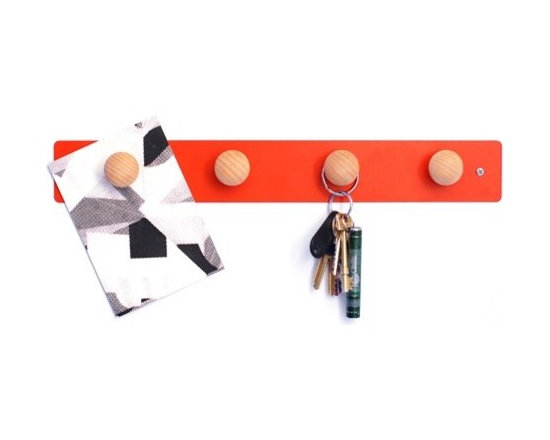 Pippin Magnets - It's a colorful magnetic board with cute little wooden knobs — what's not to like?