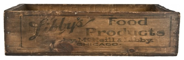 Wood Shipping Crate eclectic-decorative-boxes
