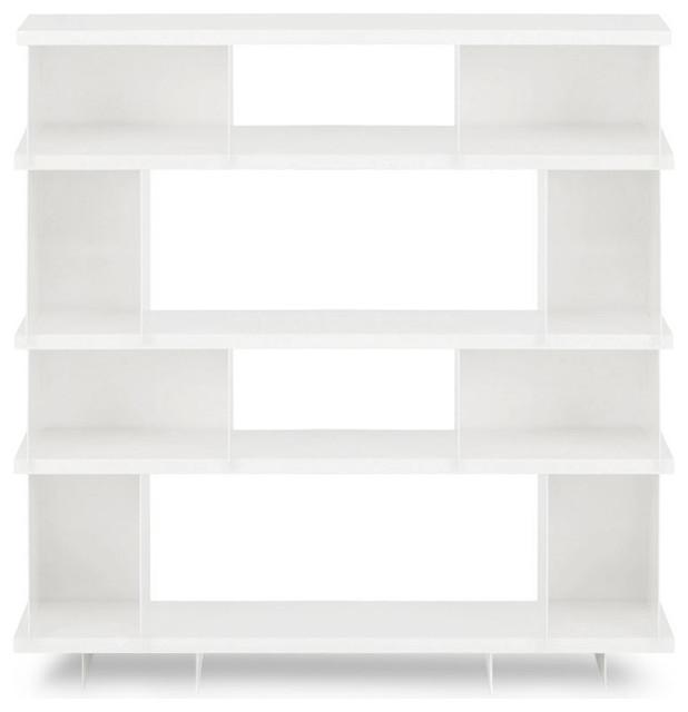 Blu Dot SHILF Version 3.0 - White, White modern-display-and-wall-shelves