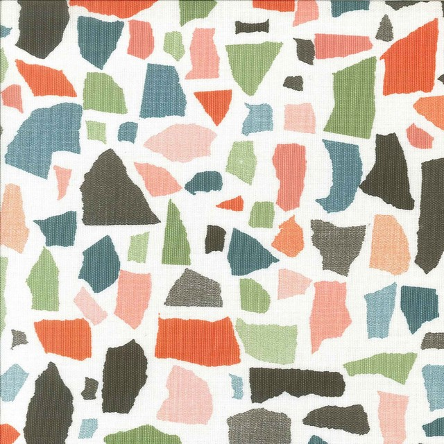 Lulu DK Geometric Fabric contemporary fabric