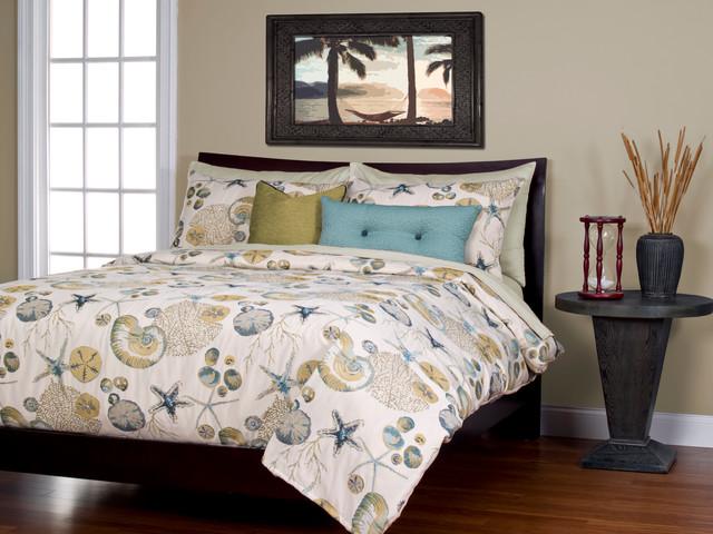 Beach Style Bedroom Sets: Naples Ocean Beach House Bedding