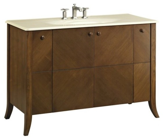 Kohler Clermont Vanity Cabinet Only in Oxford contemporary-bathroom-vanities-and-sink-consoles