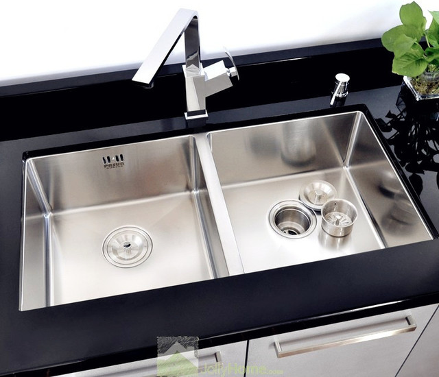Drop In Kitchen Sinks Double Bowl : All Products / Kitchen / Kitchen Fixtures / Kitchen Sinks