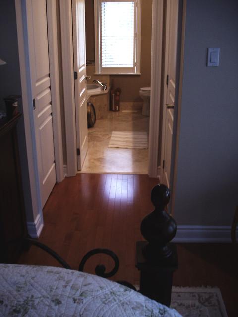 Master Ensuite Renovation traditional-bathroom