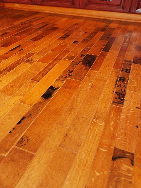 Fontenay Wine Barrel Flooring - Cooperage ($23/sq. ft.), 24 Square Foot Bundle eclectic-hardwood-flooring