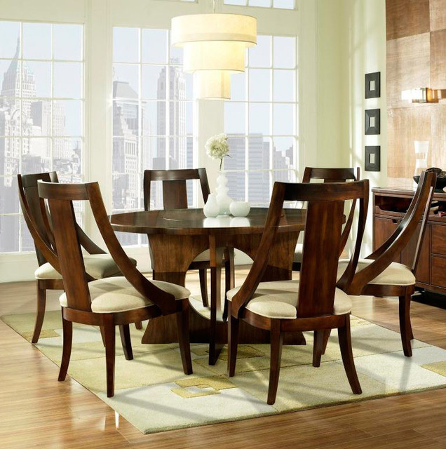 Overstock Dining Set: Somerton Dwelling Manhattan 7-piece Dining Set