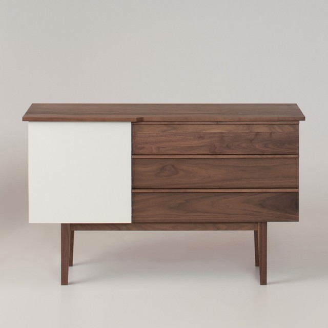 Pullman Walnut Credenza - Modern - Buffets And Sideboards - by Schoolhouse Electric