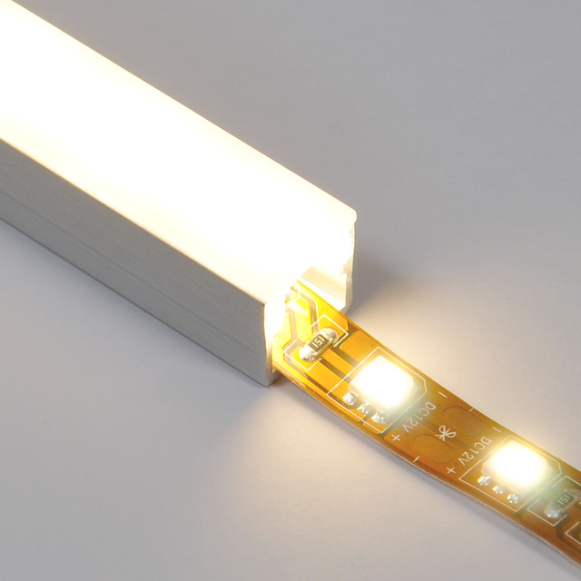 Track with Diffuser for LED strip lights kitchen lighting and cabinet ...