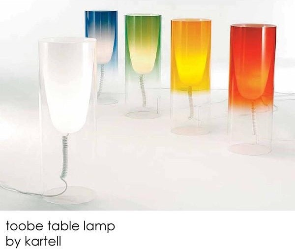 Kartell toobe lamps by ferruccio laviani - Toobe kartell ...