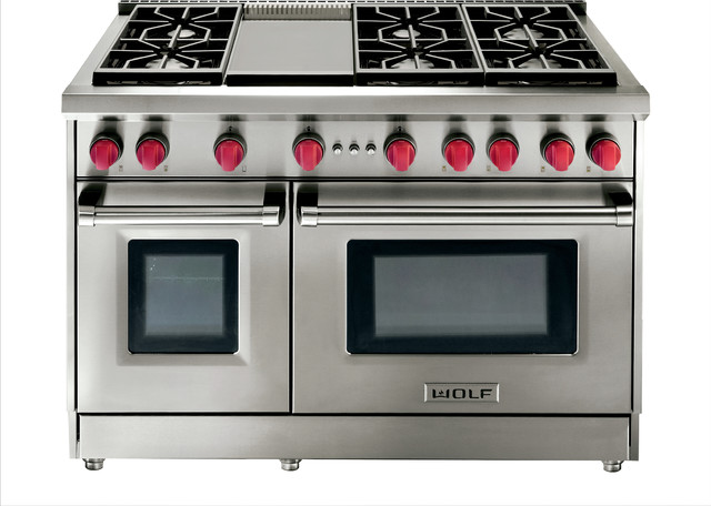 Wolf 48 Quot Gas 6 Burner Range Stainless Steel Natural Gas