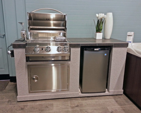 Pre-Finished Outdoor Kitchen -