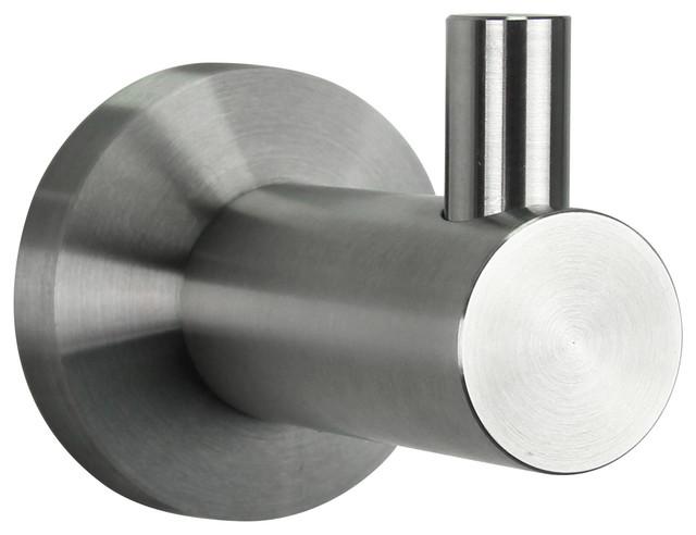 BOANN Stainless Steel Single Bathrobe Hook contemporary-towel-bars-and-hooks