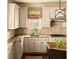 Small, outdated kitchen