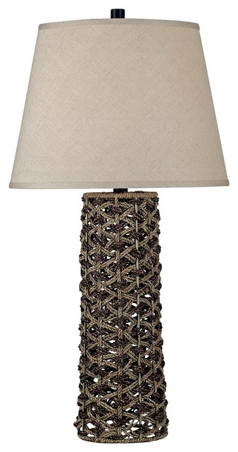 Kenroy Home Jakarta Woven Table Lamp contemporary-table-lamps
