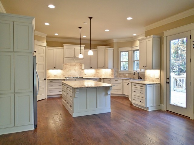 The Greenwich traditional-kitchen