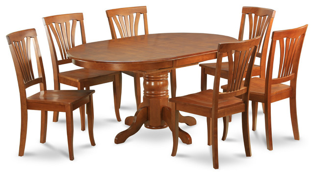 Coaster 7 Pc Milton Collection Espresso Finish Wood Marble  : modern dining sets from 50han.com size 640 x 360 jpeg 71kB