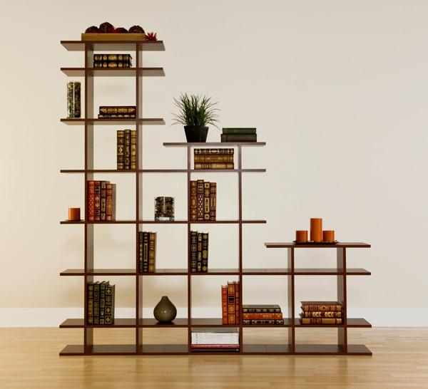 6 wide 3 tier display shelf modern display and wall