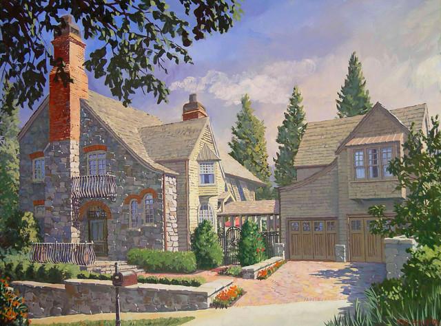 The Buckhead House traditional-artwork