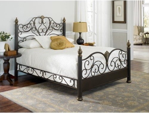 Elegance Bed traditional beds
