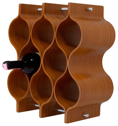 Wooden Wine Rack Modern Wine Racks By