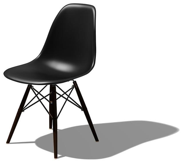 Eames dowel leg side chair modern dining chairs for Eames dowel leg side chair