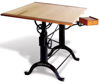 Antique Centurian Drafting Table Traditional Tables