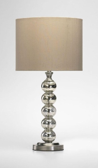 Cyan Burnish Table Lamp traditional-table-lamps