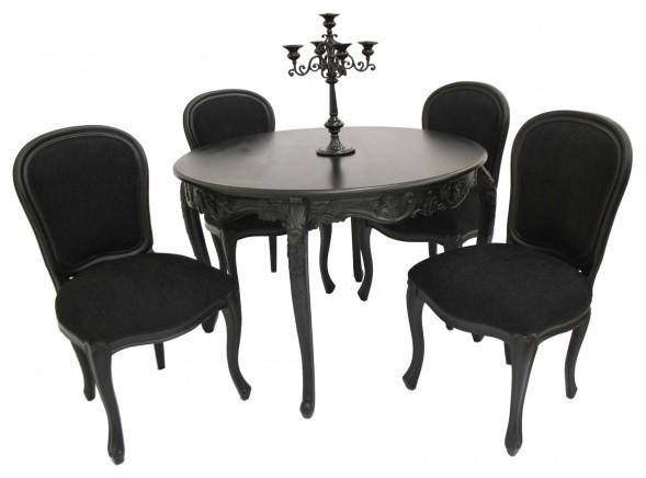 Stylish Black modern-dining-sets