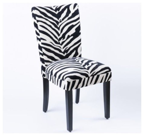 Brown Zebra Print Dining Chairs Pictures to Pin on Pinterest ...