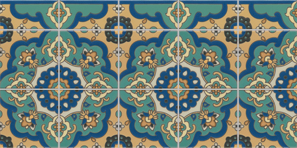 Rellatta mediterranean kitchen tile