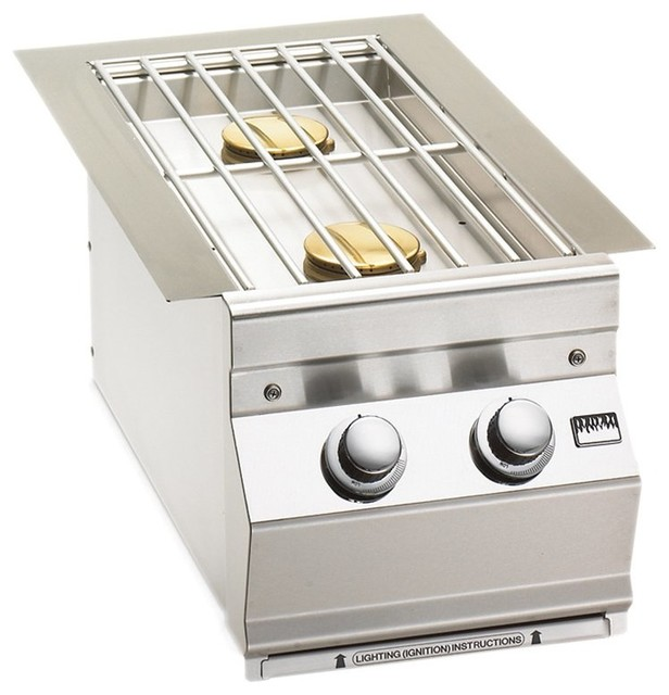 Fire Magic 3281 Built-In Double Side Burner Multicolor - 3281 contemporary-outdoor-products