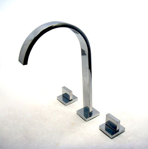 Widespread Chrome Bathroom Faucet bathroom-faucets-and-showerheads