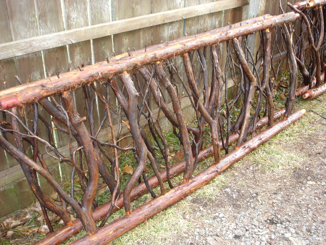 Free From Red Cedar Railings Rustic Home Fencing And