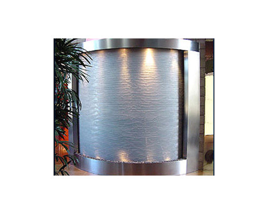 Indoor Custom Water Feature Ideas - This is an excellent example of the type of water feature that the expert builders at Water Feature Supply can create. Our fountain engineers have the experience and knowledge to help create your custom water wall project bringing even your wildest dream into reality. Every one of our custom water features is hand built with the finest quality materials in the world and fully tested to ensure longevity. Making all your indoor and outdoor custom water features a reality...Water Feature Supply