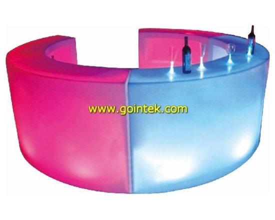 glowing led bar furniture -