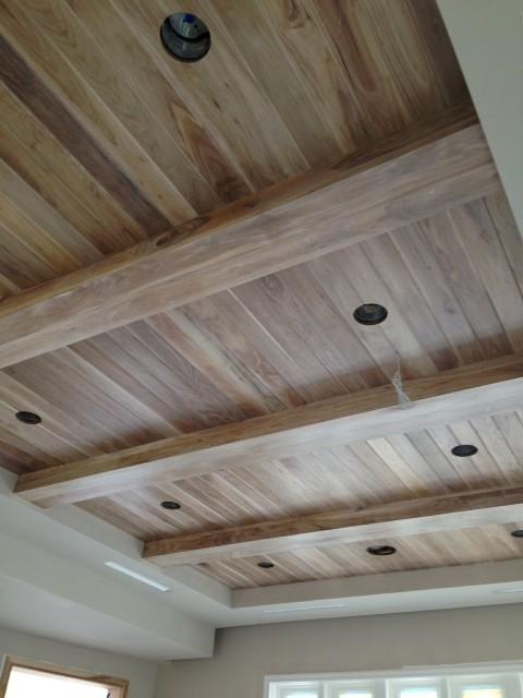 Box beam ceilings miami by jm custom woodworking inc for Box beam ceiling
