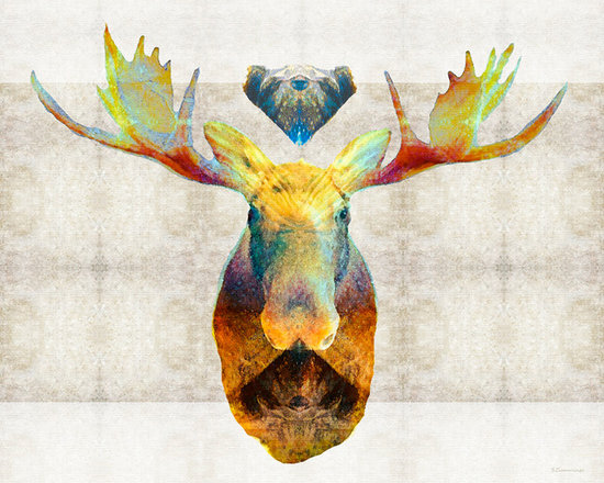 Animals, Fish and Birds - Mystic Moose Art by Sharon Cummings