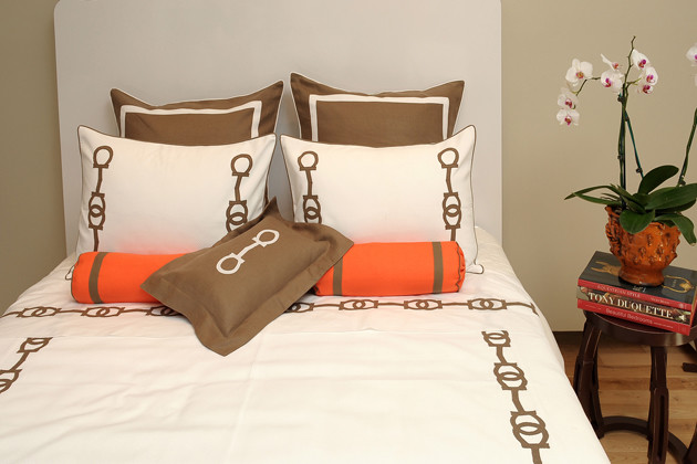 Contemporary Duvet Covers by Leontine Linens