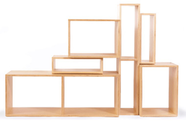 Mix Boxes Birch Plywood Modern Storage Cabinets By