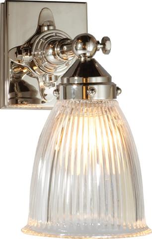 Industrial Modern Vanity Lights : Garey Industrial Pivoting Wall Light - Modern - Bathroom Vanity Lighting - other metro - by ...