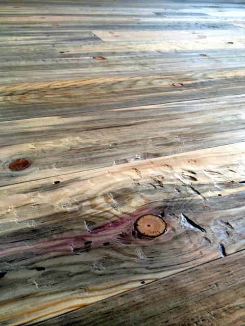 Beetle kill pine rustic hardwood flooring other metro by