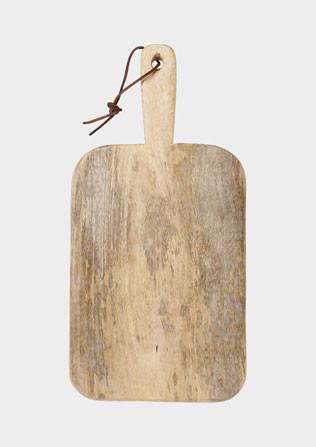 Mango Wood Bread Board, Medium traditional-cutting-boards